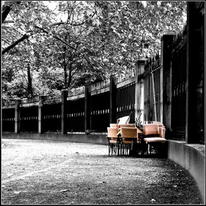 Chairs - Treptower Park