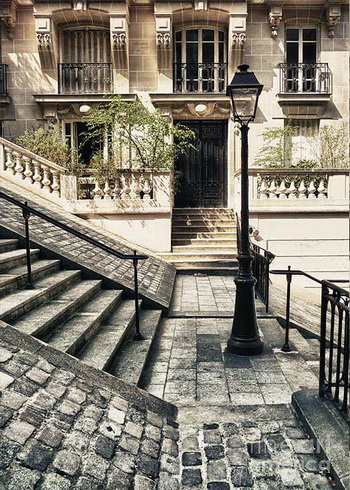 Paris - The Stairs of Montmartre